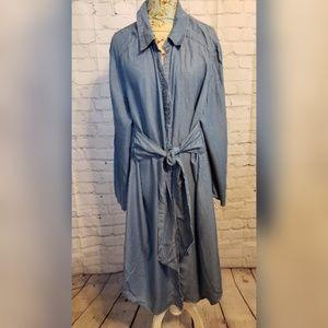 Midnight Velvet Dresses - Midnight Velvet Kami Tie Front Dress